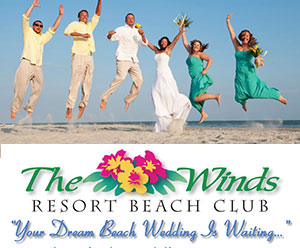 The Winds Resort Oceanfront Beach Weddings Ocean Isle Beach NC
