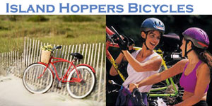 Island Hoppers Bicycle Sales and Rentals Sunset Beach NC